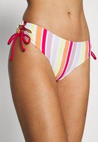 Roxy - BEACH CLASSICS FULL BOTTOM - Bikini bottoms - mauve shadows retro - 4