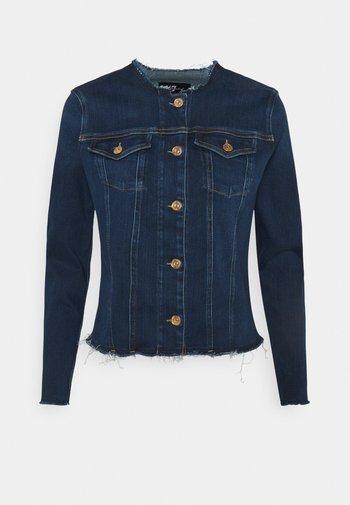 JACKET - Giacca di jeans - dark blue