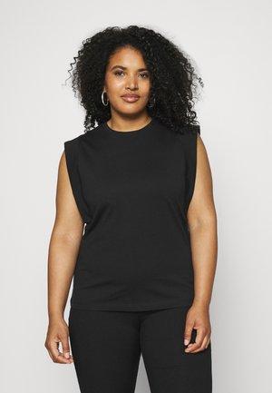 VMPLACE - Basic T-shirt - black