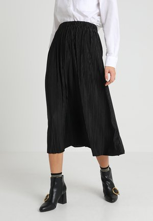 UMA SKIRT - Pleated skirt - black