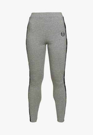 FIAMMA LEGGINGS - Medias - grey melange/black