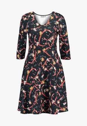 BYPEARLE DRESS - Jerseykleid - black
