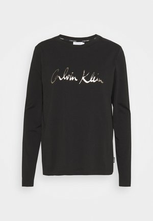 SIGNATURE - Long sleeved top - black