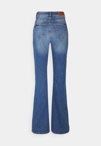 Noisy May Tall - NMNAT - Flared jeans - light blue denim - 1