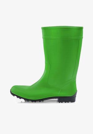 Regenlaarzen - green/black