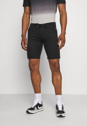 Jeansshorts - black washed