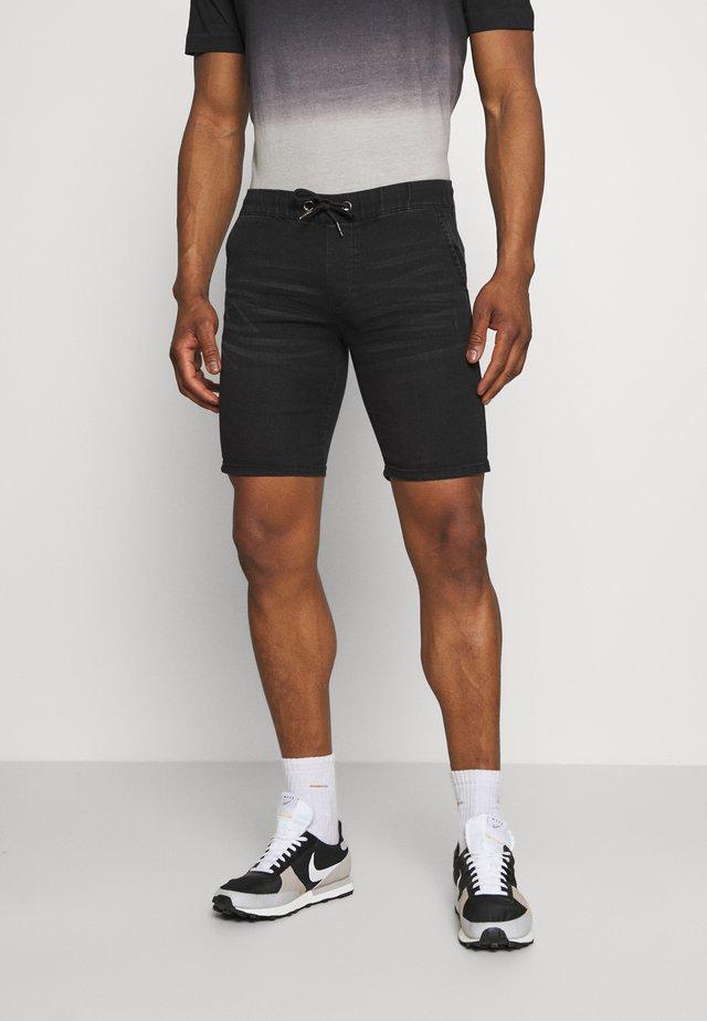 Shorts vaqueros - black washed
