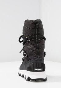 Sorel - KINETIC - Winter boots - black/white - 5