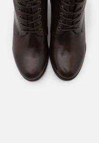 s.Oliver BLACK LABEL - Kotníková obuv - brown - 5