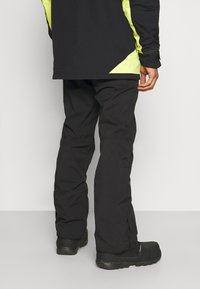 O'Neill - HAMMER SLIM PANTS - Snow pants - black out - 2