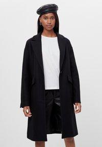 Bershka - Classic coat - black - 0