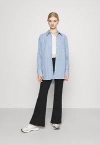 Weekday - EDYN - Button-down blouse - blue - 1