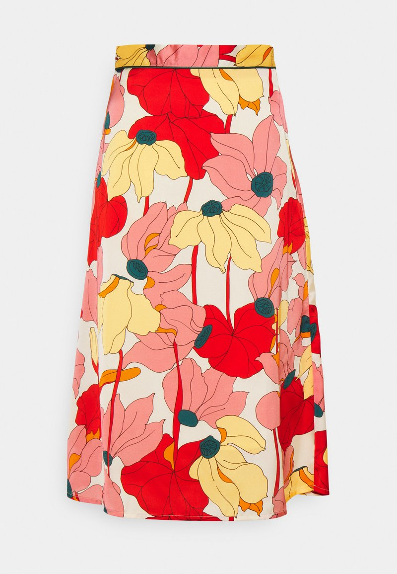 Progetto Quid - GARDENIA - A-line skirt - multi-coloured