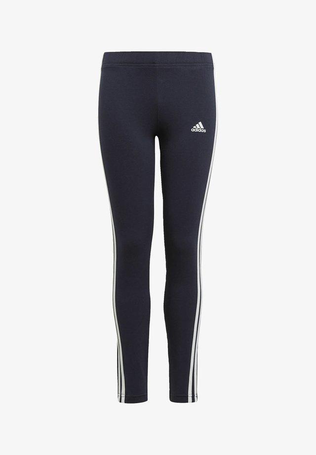 ADIDAS ESSENTIALS 3-STRIPES LEGGINGS - Pantalones deportivos - blue