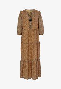 s.Oliver BLACK LABEL - Maxi dress - orange aop - 5