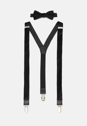 ONSBOWTIE SUSPENDER SET - Belt - black