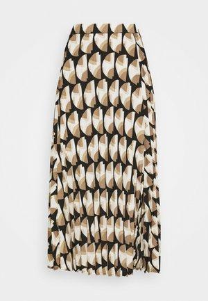 PAULA MUST - Áčková sukně - beige/sand