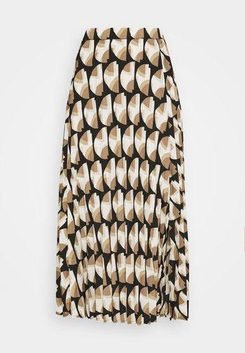 PAULA MUST - A-line skirt - beige/sand
