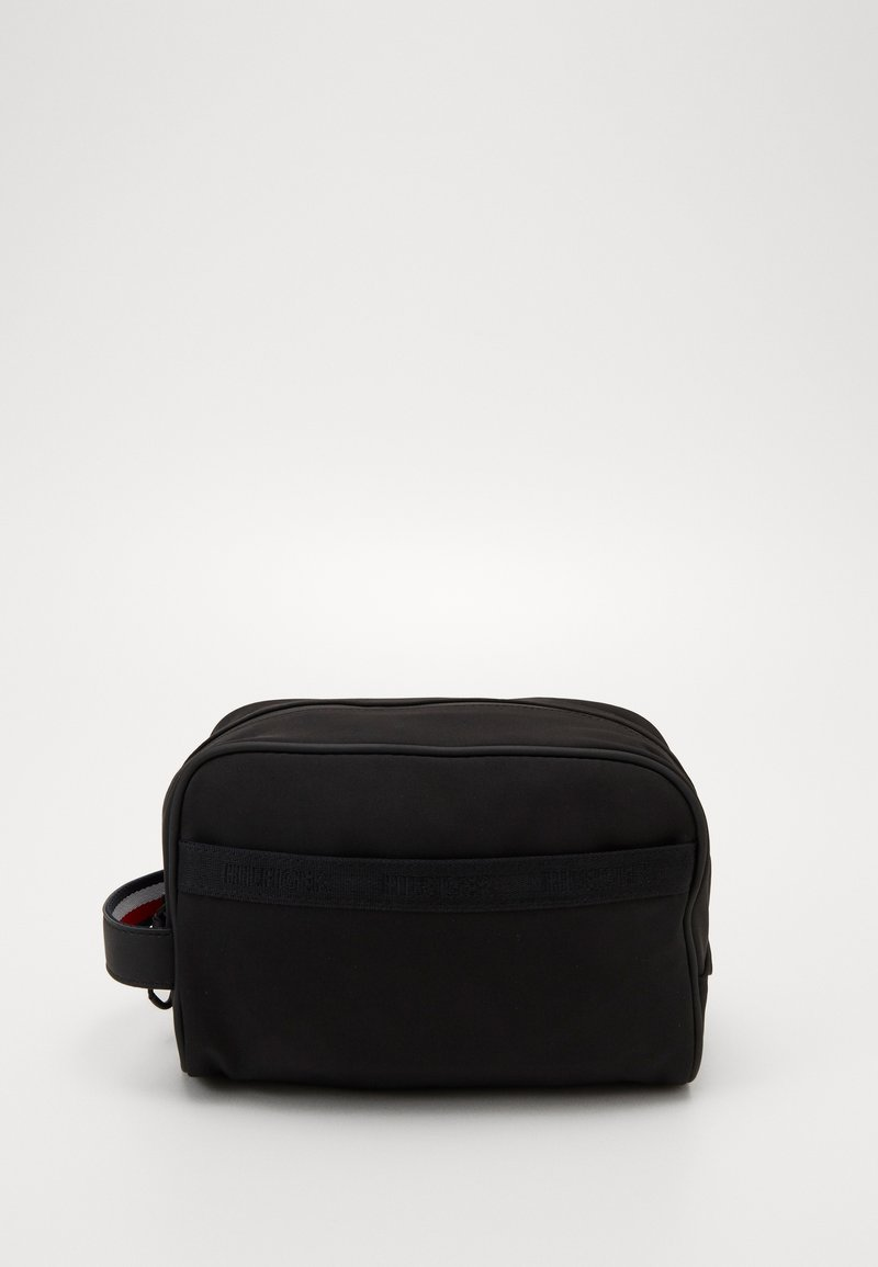 Tommy Hilfiger - URBAN TOMMY WASHBAG - Wash bag - black