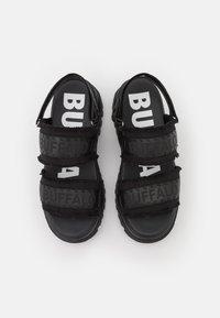 Buffalo - VEGAN ASPHA  - Platform sandals - black - 5