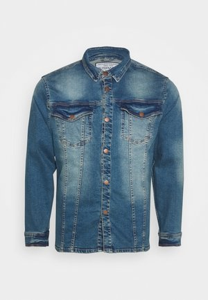 SHIRT JACKET - Denim jacket - karma blue