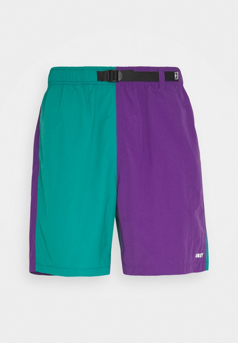 Obey Clothing - EASY RELAXED RECESS - Shorts - teal/multi