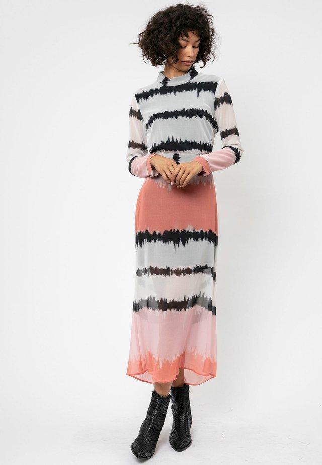 Długa sukienka - grey