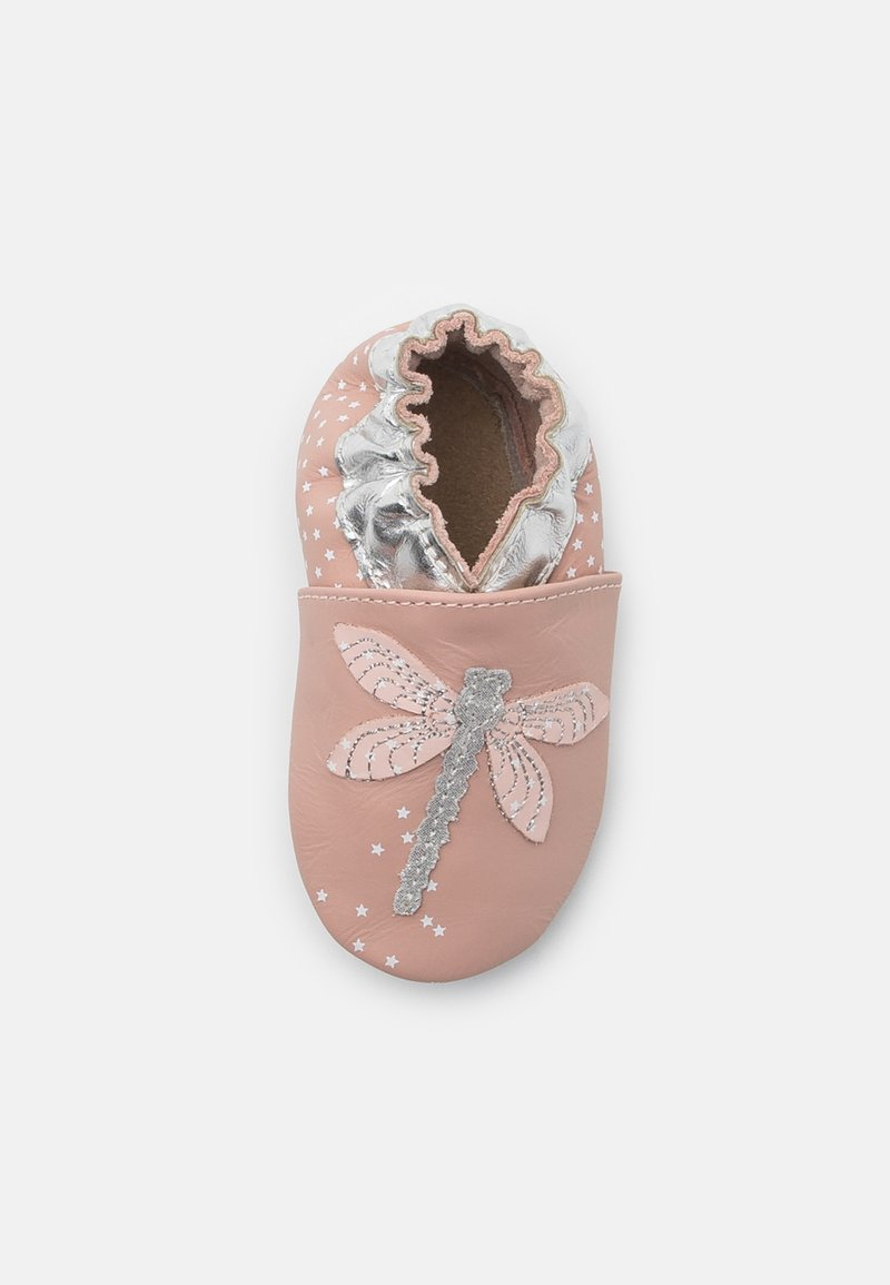 Robeez - SHINY DRAGONFLY - First shoes - light pink