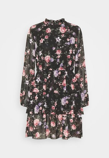 ONLVIVIAN FLOWER FRILL DRESS