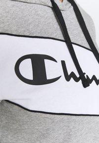 Champion - HOODED - Sweatshirt - oxi grey melange - 5