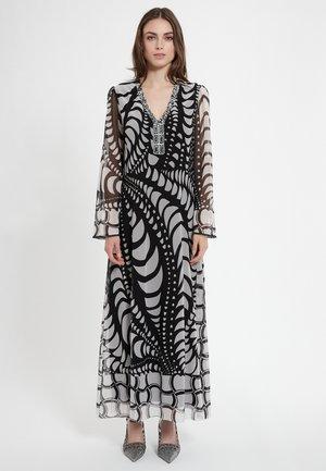 CENCA - Maxi-jurk - schwarz weiß