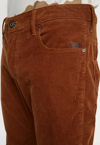 G-Star - ARC 3D SLIM FIT COLORED - Trousers - roast - 5