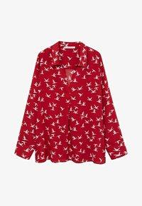 Violeta by Mango - Button-down blouse - rot - 4