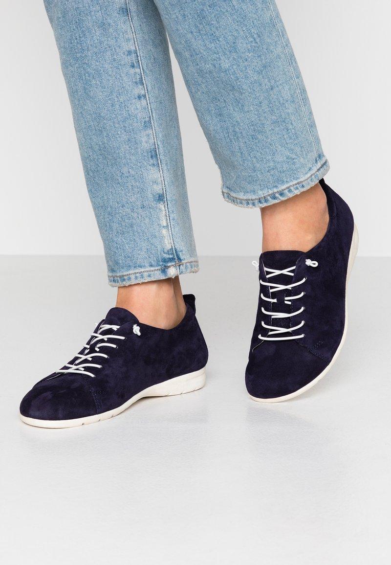 Jana - Chaussures à lacets - blue