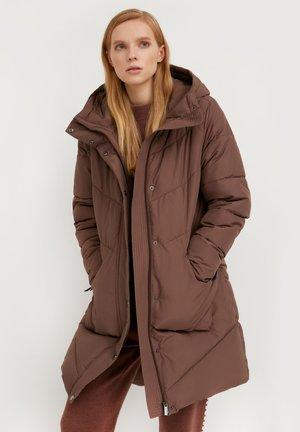 Winter coat - dark brown