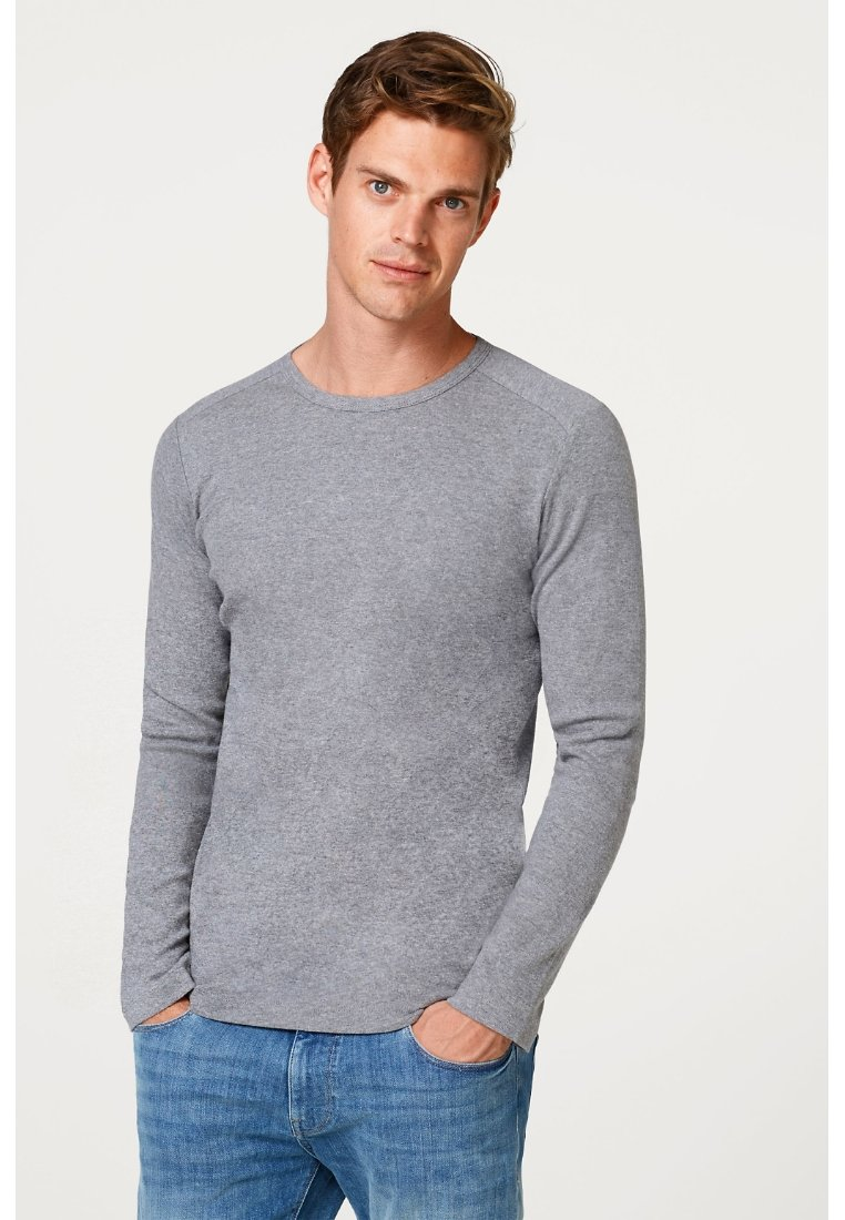 Esprit - Long sleeved top - medium grey