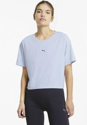 RUN LAUNCH COOLADAPT TEE - T-shirt con stampa - grey dawn