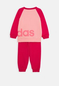 adidas Performance - ESSENTIALS SPORTS SET UNISEX - Chándal - glow pink/power pink/signal pink - 0