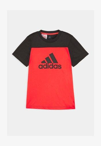 TEE - Print T-shirt - hirere/black