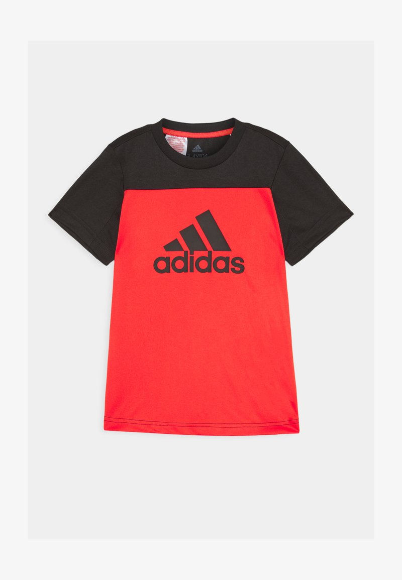 adidas Performance - TEE - T-shirt z nadrukiem - hirere/black