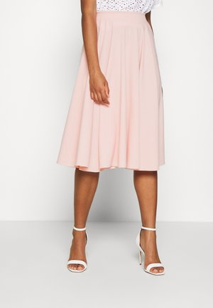 MIDI FULL CIRCLE SKATER SKIRT - A-Linien-Rock - baby pink