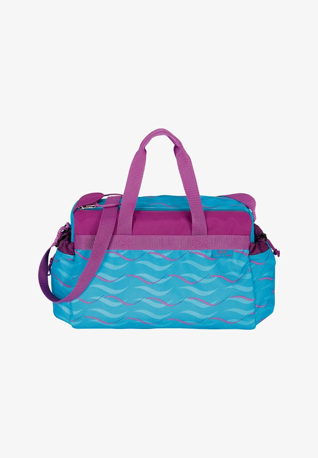 Sports bag - neon blue