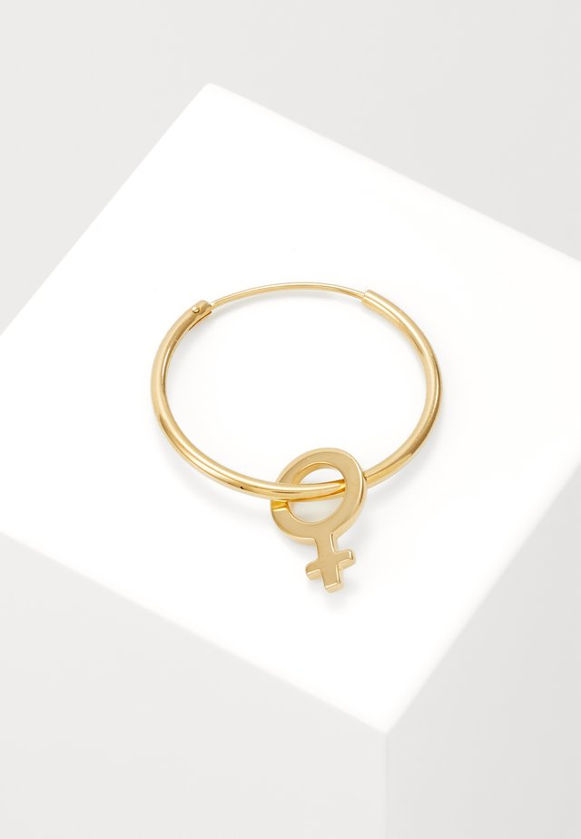 I`M EVERY WOMAN HOOP - Orecchini - gold-coloured