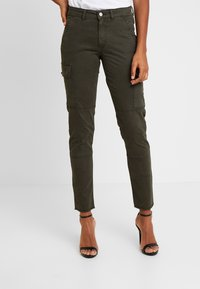 ONLY - ONLVARGO PANT - Trousers - forest night - 0