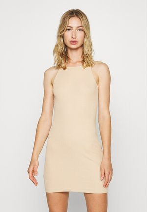 Jersey dress - cuban sand