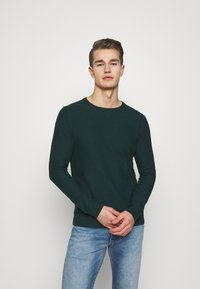 TOM TAILOR - COSY SWEATER - Jumper - sapphire green - 0