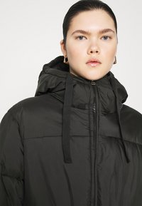 Weekday - ALLY LONG PUFFER - Winter coat - black - 4