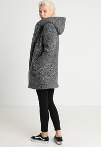 ONLY - ONLSEDONA COAT - Short coat - dark grey melange - 3