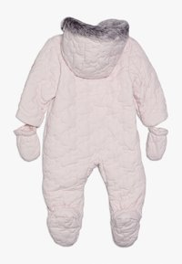 mothercare - BABY QUILTED SNOWSUIT - Snowsuit - pink - 1