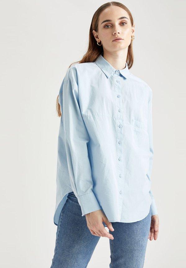 DeFacto Koszula - blue/jasnoniebieski BORS